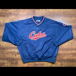 Vintage NIKE Chicago Cubs MLB Windbreaker Jacket